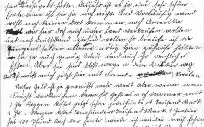 Brief von Ludwig an Wilhelm